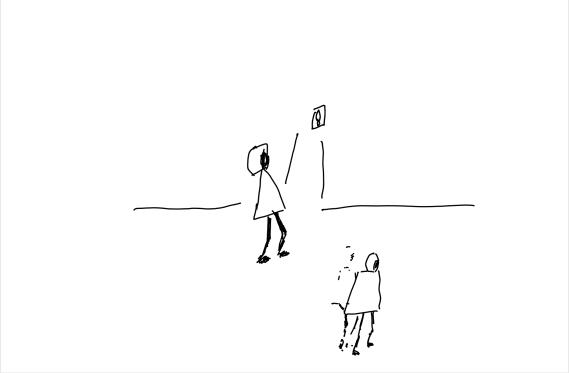 Drawing - Main street